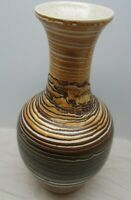 Vintage Royal Haeger Gold Lava Floor Vase