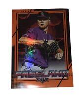 2020 MLB Topps Fire Kyle Freeland Orange 009/299 Rockies- Pack Fresh! 🔥🔥