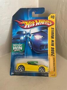 Hot Wheels Ferrari F430 Spider #33/38 2006 New Models Yellow CL12