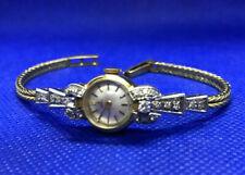 Schmuck Damen Armbanduhr Art Deco Ebel  Diamanten in 750 Gold 18K Rarität 25 Gr