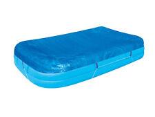 Nouveau 120x72 piscine rectangulaire couvercle famille pagayer feuille rapide protection