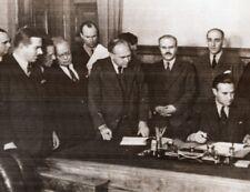 Russia Moscow Lend-Lease Signature Molotoff Harriman Beaverbrook Old Photo 1941