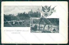 Varese Brenta Cittiglio Militari cartolina QK9980