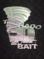 "Vintage Camper ""Tornado Bait"" Wall Art"