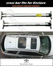 Fits for Buick Enclave 2009-2014 Cross Bar Crossbars baggage carrier roof rack