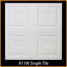 Ceiling Tiles Glue Up Styrofoam 20x20 R11 White lot of 100 pcs 270 sq ft