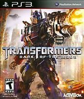 Brand New Sealed Transformers: Dark of the Moon (Sony PlayStation 3, 2011, PS3)
