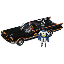 JADA TOYS DC COMICS 1966 Classic TV Series Batmobile Batman And Robin Figures