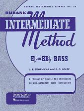 Rubank Intermediate Method for Bass/Tuba, Intermediate Level, 48 Pages, 4470250