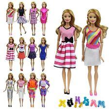Zita elemento 5 Moda Ropa Vestido Traje 5 Zapatos Para Muñeca Barbie Disfraz