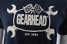 GEARHEAD Brand Wrenches Mens Black T Shirt Hot Rod Punk Rock Greaser Rockabilly
