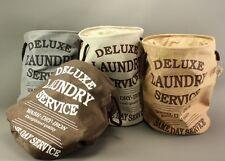 Sac de vêtements étoile marron clair Panier à linge linge vintage lavage pliable