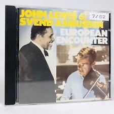 John Lewis & Svend Asmussen European Encounter CD 1986 Atlantic