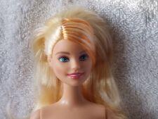 Nude - Barbie Doll - Orange Streaked Hair - Halloween Magic - OOAK Use