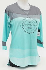 NEW! Womens Sombrio Mountain/Enduro Bicycle Noble Jersey Size Medium Green Ombre