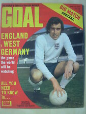 GOAL MAGAZINE APRIL 29 1972 GLASGOW RANGERS - MARTIN CHIVERS - BOBBY MOORE