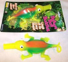 6 GIANT SIZE INFLATEABLE BLOWUP LIZARD balloon lizards novelty toy reptile 12 IN