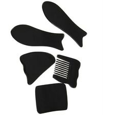 Chinese Traditional Gua Sha Treatment Acupuncture Massage 5PC Tool Set