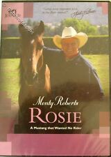 CS Monty Roberts DVD  ROSIE a Mustang that wanted no rider