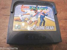 SEGA GAME GEAR vendo gioco SUPER KICK OFF 1 player 670-2258 videogioco vintage