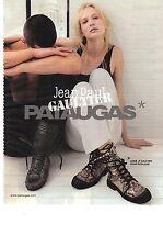 PUBLICITE ADVERTISING 2010   JEAN PAUL GAULTIER signe pour PATAUGAS