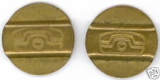 Telephone token - jeton - Lithuania - set of 2 pcs