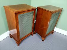 A Pair of Antique Late 20th Century Burr Walnut Bedside Tables ~Delivery Availab