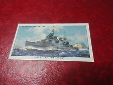 1939 Players Cigarettes Card #8 - Cruiser HMS Southampton