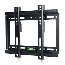 Flat TV Wall Mount Bracket LCD LED Screen 17 19 22 23 24 26 27 32 37 40 42 Inch