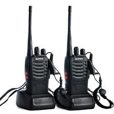2pcs BAOFENG BF-888S Walkie talkie UHF Two way Radio UHF400-470MHz Earpiece