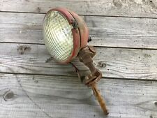 Early Tractor Lamp Guide Vintage Ih Farmall Light Glass Lens 5936059 Bracket