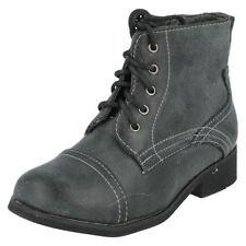 Chaussures à lacets en cuir pour fille de 2 à 16 ans Pointure 28