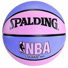 "Spalding NBA Street Basketball - Pink & Purple  - Intermediate Size 6 (28.5"")"