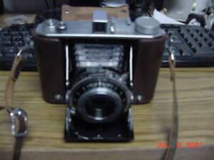 OLYMPUS SIX 6X6 + 6X4.5 Rangefinder Camera 7.5cm f3.5 Lens & Case