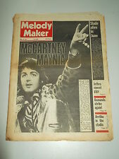 MELODY MAKER 1973 APRIL 28 PAUL MCCARTNEY JETHRO TULL OSMONDS ARETHA FRANKLIN