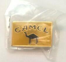 """Vintage New Camel Joe Smokin' Tobacco Cigarette Yellow Pin Button 1.25"""" X .75"""""""