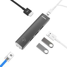 USB C HUB for Apple MacBook Air 2018, MacBook Pro 2018-16 Ethernet, HDMI, SD USB