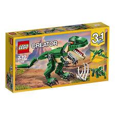 LEGO Creator 31058 Dinosaurier, leuchtend orangene Augen, bewegliche Gelenke