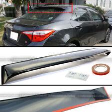 For 14-18 Toyota Corolla Rear Window Roof Sun Rain Shade Vent Visor Spoiler