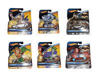 Hotwheels DC Comics Single Vehicle - Joker Two-face Mr Freeze Aquaman Batman