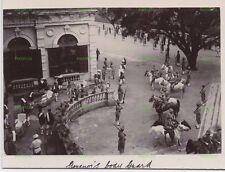 OLD HONGKONG PHOTOGRAPH THE GOVENORS BODY GUARD HONG KONG VINTAGE C.1906