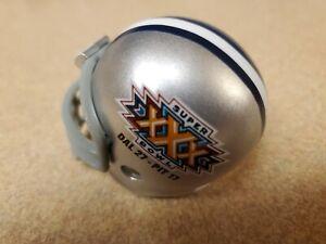 Riddell pocket pros NFL DALLAS COWBOYS SUPER BOWL XXX 30 football helmet