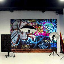 5x7ft Street Graffiti Photography Backdrop Friends Home Party Decor Photo 3x5