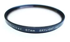 67mm Vivitar Skylight 1A Filter - EXCELLENT