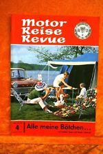 Motor + Fahrer Reise Revue 4/62 BMW LS Luxus Westfalia 465/4