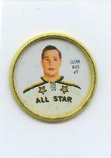 62-63 SHIRRIFF HOCKEY COIN #49 GLENN HALL ALL-STAR
