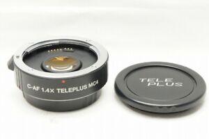 KENKO C-AF 1.4X TELEPLUS MC4 DGX Teleconverter Lens for Canon EF Mount #210618e