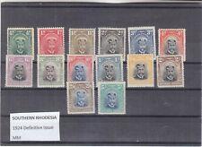 Southern Rhodesia 1959 Definitives - set