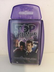 Top Trumps Specials Doctor Who Cards
