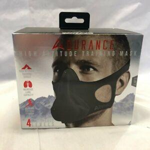 Adurance Training Workout Mask, 4 Breathing Oxygen High Altitude Training Mask